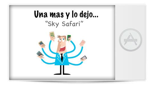 (Nueva sección iPhoneA2) Una más y lo dejo: Sky Safari