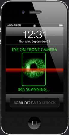 Escaner de huellas biométrico para pantalla de desbloqueo