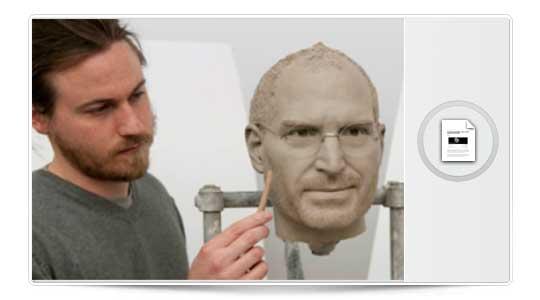 Figura de cera de Steve Jobs Ultra Realista, Impresionante….