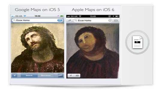 Mapas iOS 6 nos muestra un mundo deforme