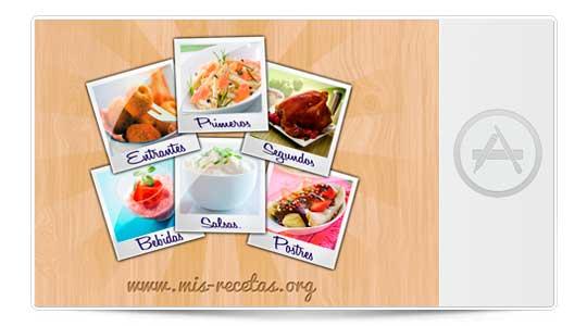 Cocina con tu iPad con Todas Mis recetas
