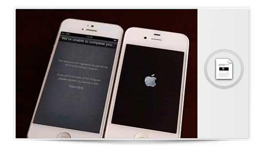 Filtrado un video de un prototipo de iPhone 5 en Foxconn, y este lo encienden….