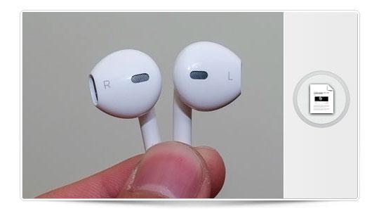 Otra vez el iPhone 5, ahora los auriculares.