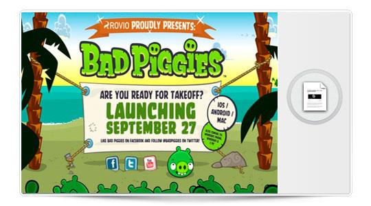 CONFIRMADO el lanzamiento de Bad Piggies, la secuela de Angry Birds, el 27 de septiembre