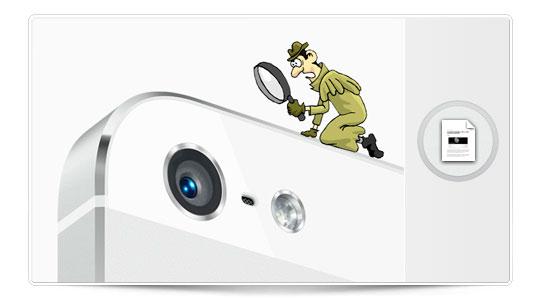 Lo que esconde la cámara del iPhone 5