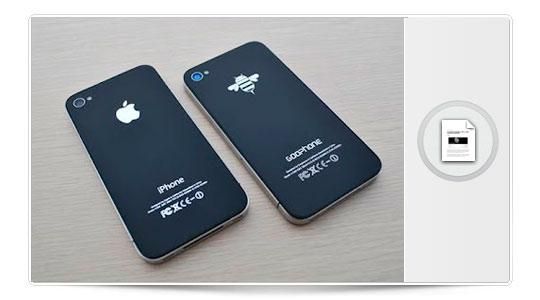 Ya a la venta la copia china del iPhone 5, Spaceballs ya nos lo advertía
