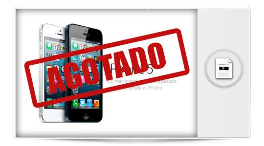 Las reservas del iPhone 5 agotadas en una hora