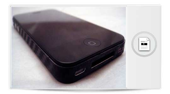 iPhone 5 carbono