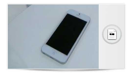 ¿Primer video del Iphone 5 totalmente ensamblado? ACTUALIZADO con otro vídeo donde encienden un prototipo