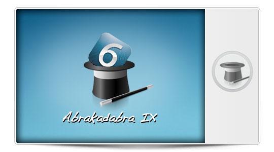 Abrakadabra IX, especial mini trucos iOS 6