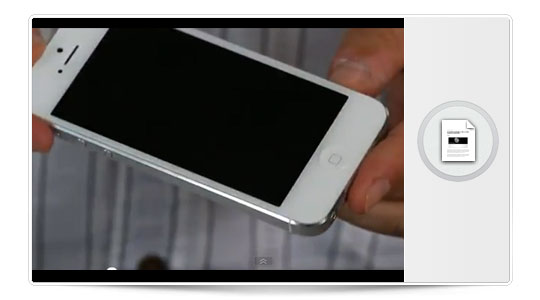 Varios videos del unboxing del iPhone 5, porque tu lo vales…