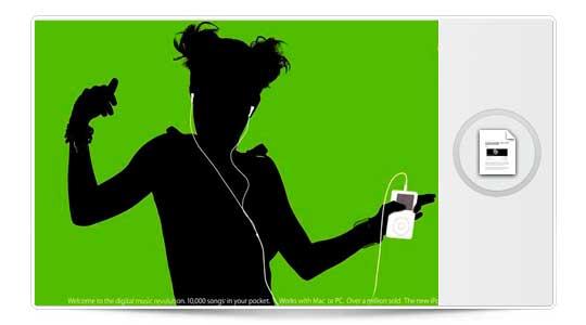 El nuevo anuncio del iPod para TV, Espectacular