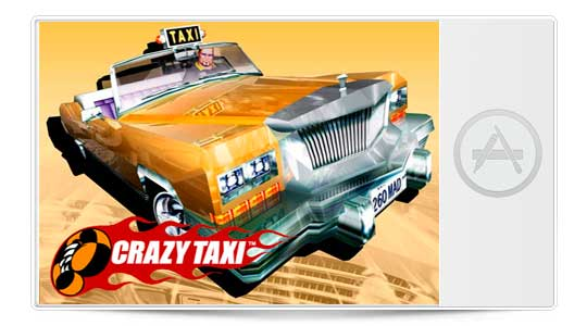 Crazy Taxy disponible en la App Store, gastaréis vuestro iPhone jugando…..