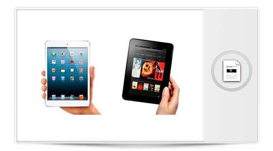 Amazon ataca al iPad Mini en su publicidad ¿Sorprendido? ¿Indignado?, esto ya estaba inventado hace tiempo….