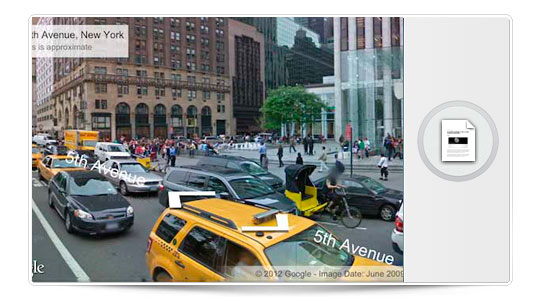 Street View ya disponible en la Web App de Google Maps