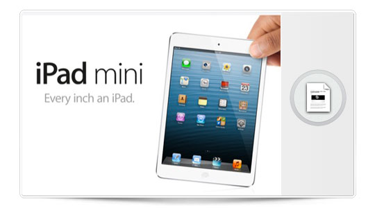 iPad Mini, así es