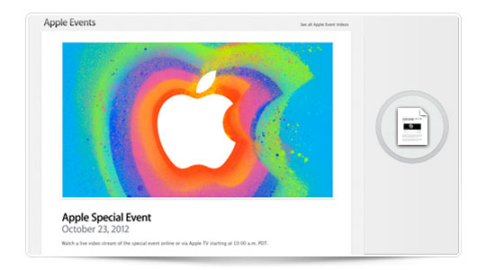 Apple retransmitirá  su evento de hoy en directo, vía web y a través del Apple TV