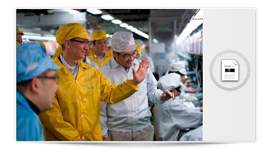 Tim Cook se va de viaje a China para hacer turismo por Foxconn