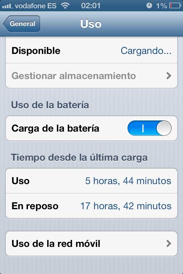 como calibrar la bateria del iPhone