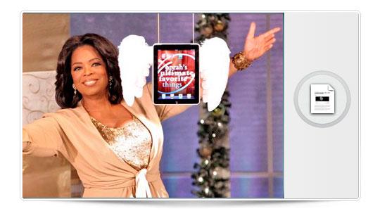 Oprah Winfrey nos recomienda el Surface desde su iPad… Gran ridículo…