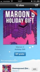 maroon 5 gratis itunes