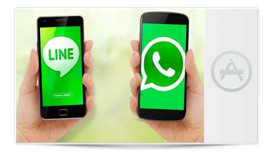 Quito WhatsApp y me quedo con LINE que es mejor…. ¿De verdad puedes?
