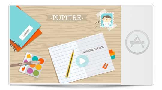 Pupitre, para que tus hijos jueguen y aprendan con Aplicaciones Infantiles