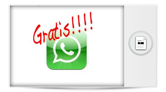Descarga Whatsapp gratis para iPhone por tiempo limitado, corre que vuela…