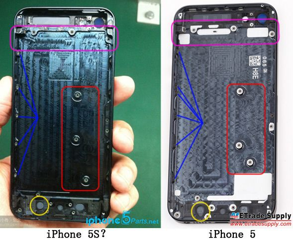 rumores imagenes filtradas del nuevo iphone 5s de apple