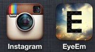 instagram vs eyeEm