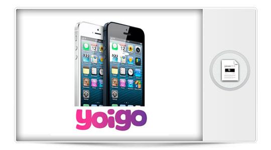 El iPhone 5 aterriza en Yoigo el 14 de diciembre…