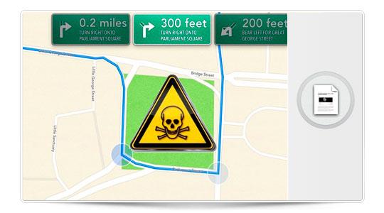 Cuidado con Mapas, que te puede matar. O casi…