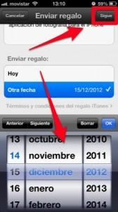 trucos para iphone ios 6 como regalar una aplicacion en la app store