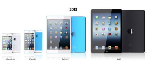 iPad Mini 2 y iPad 5 iPhone mini iphone 5s