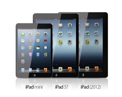 iPad Mini 2 y iPad 5