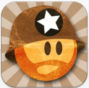 Aplicaciones iPhone paratrooper juegos adictivos