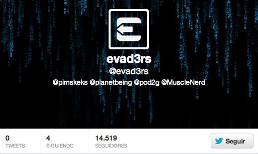 evad3rs  en Twitter