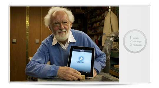 Mis abuelos tienen un iPad