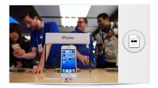 El iPhone 5 se vende poco… y Apple reduce los pedidos…