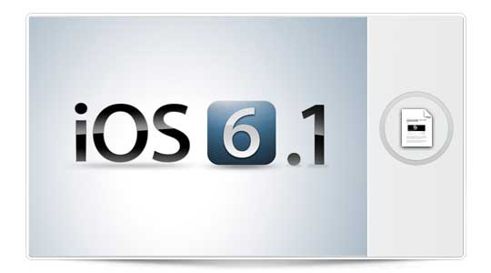 iOS 6.1 está disponible y parece compatible con el JailBreak ¿Preparados?