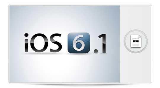iOS 6.1 está disponible y parece compatible con el JailBreak ¿Preparados?