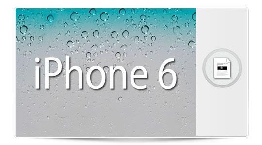 El iPhone 6 y el iOS 7 asoman la cabecita…