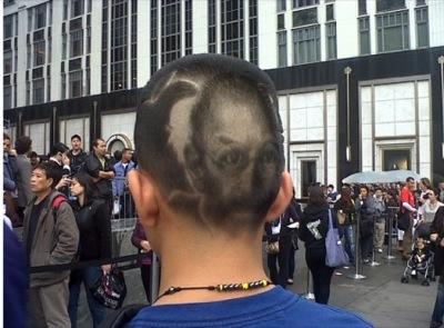 peinado _apple fanboy