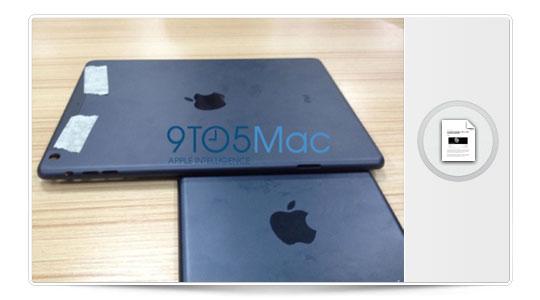 Llegan las primeras imágenes filtradas del iPad 5, también conocido como iPad Mini Grande