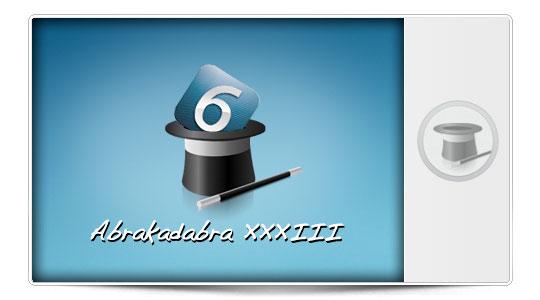 Abrakadabra XXXIII Trucos para iPhone con iOS 6: Mete todas las aplicaciones que quieras en Quiosco sin Jailbreak