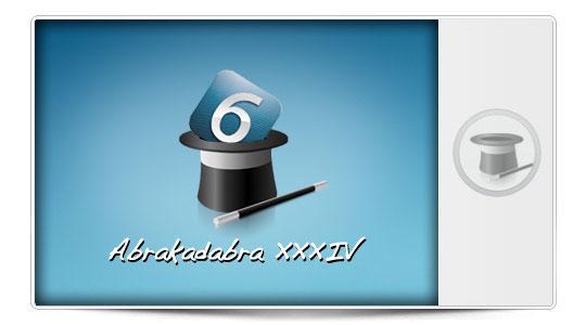 Abrakadabra XXXIV Trucos para iPhone con iOS 6: Como poner un Nuevo Tema en tu iPhone Sin JailBreak