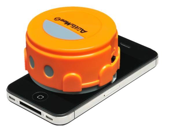 automee-s un robot para limpiar la pantalla de tu iPhone y iPad