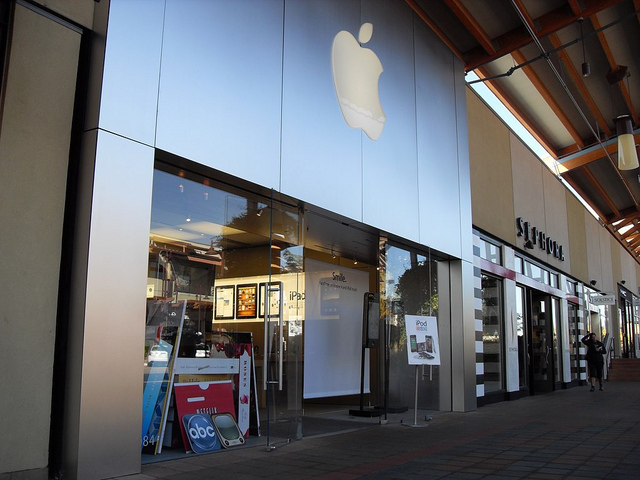 Robo en una apple store