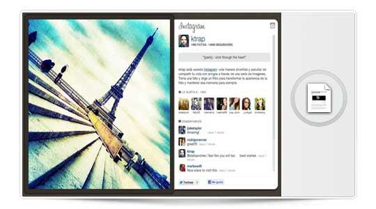 Instagram ya permite visualizar tu feed de imágenes desde su web.