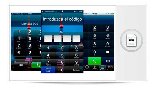 Como hacer llamadas con el iPhone Bloqueado con código de seguridad en iOS 6.1